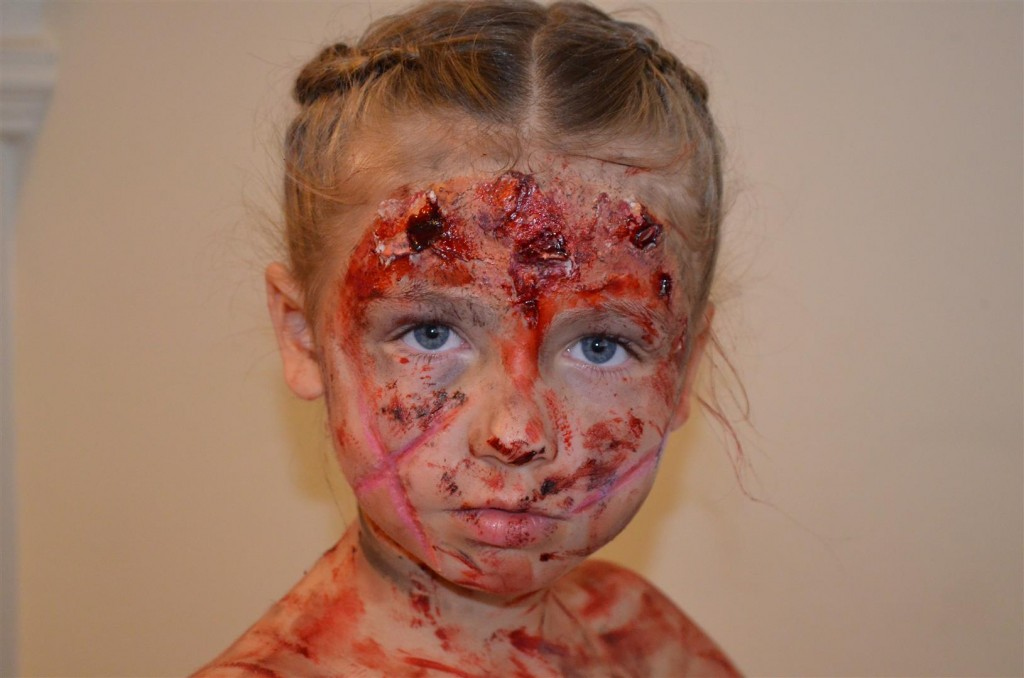 zombie princess special effects makeup