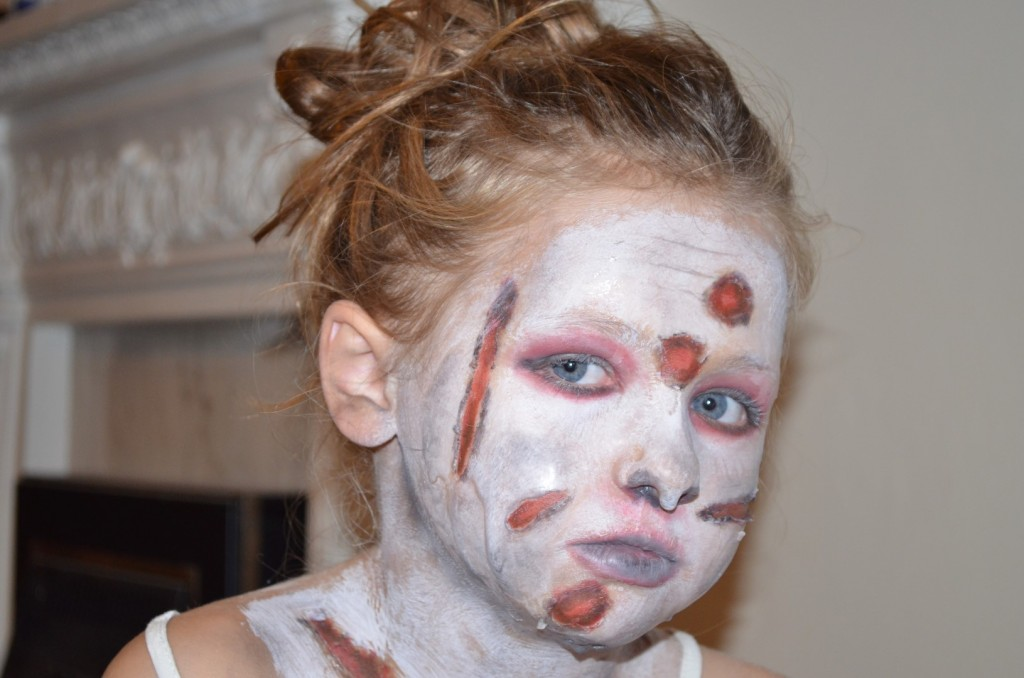 halloween zombie special effects makeup