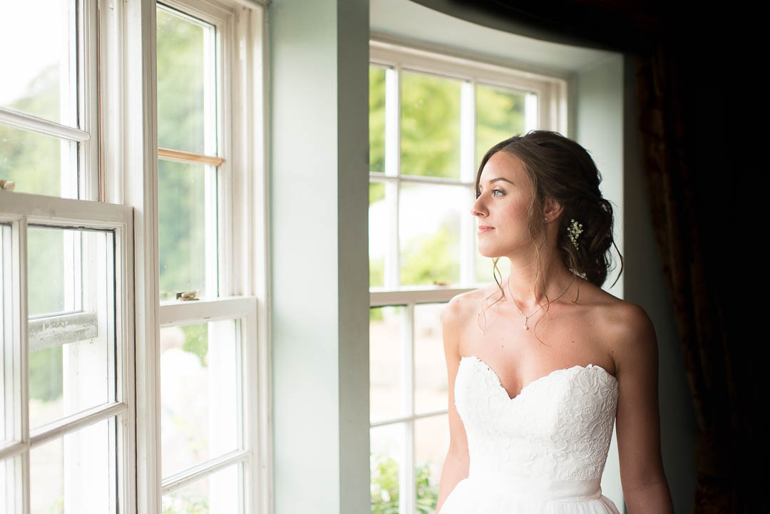 Bridal makeup and hair styling