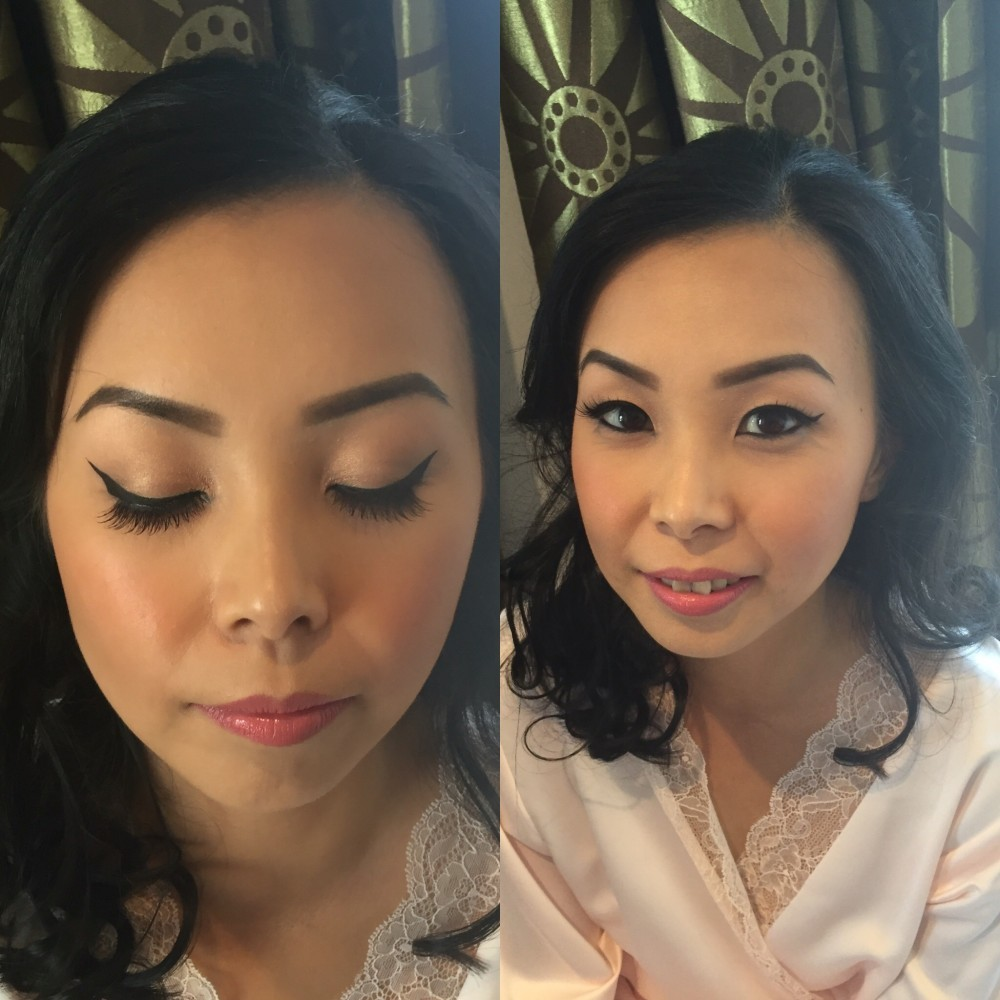 Wedding bridal mobile airbrush makeup artist