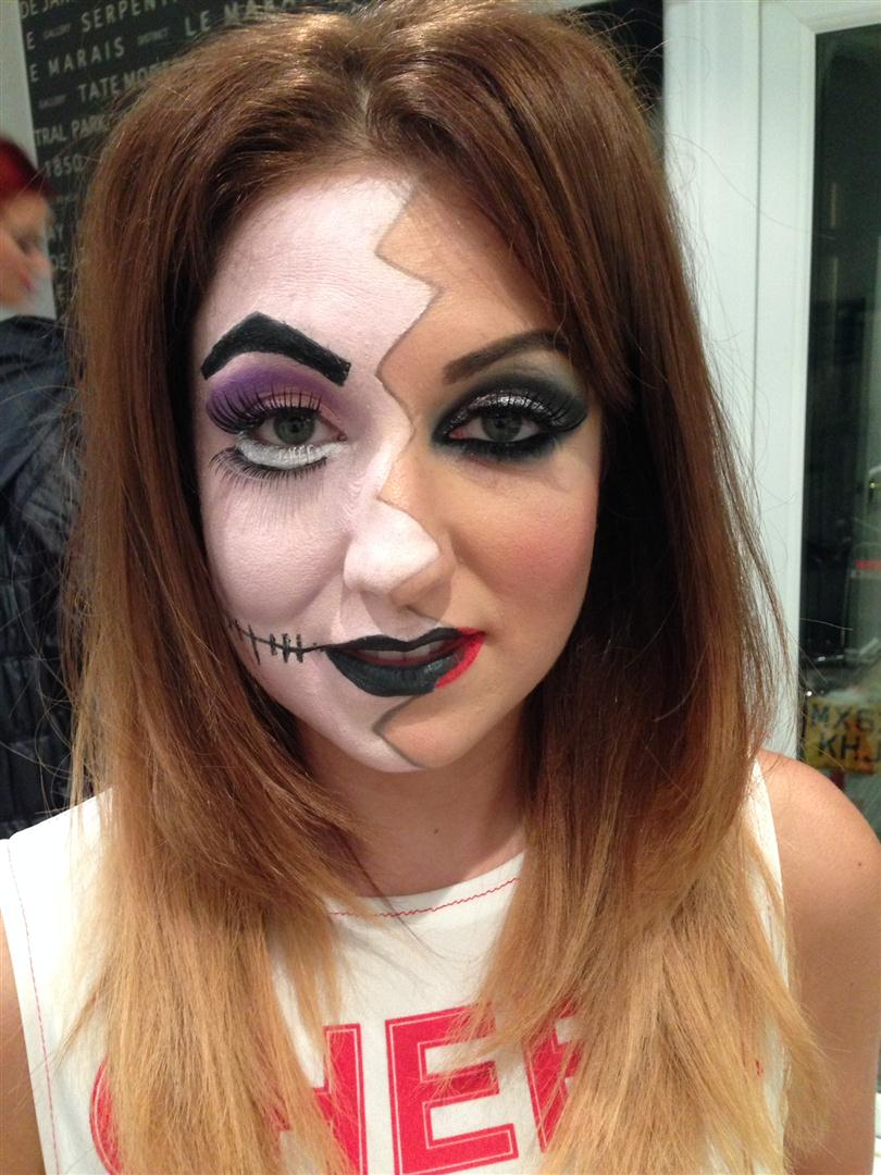 Halloween, face paint and special effects Makeup artist