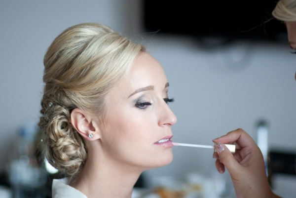Wedding day bridal makeup artist preston
