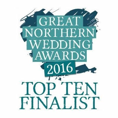 Top 10 finalists in the Great Northern Wedding Awards 2016 for Makeup and Hair